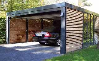 Можно ли построить гараж вплотную к забору