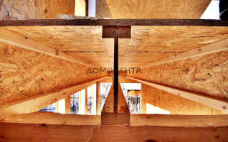 Деревянные двутавровые балки перекрытия расчет
