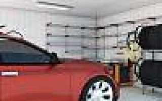 Система хранения колес в гараже