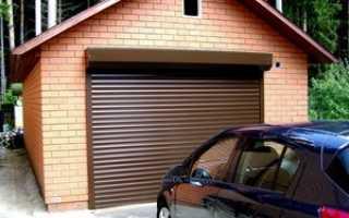 Роллетные ворота на гараж своими руками