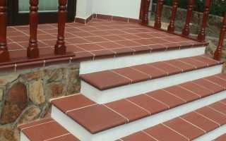 Керамическая плитка для ступеней лестницы в доме