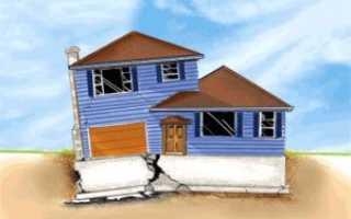 Как подлить фундамент под старый деревянный дом