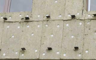 Как крепить базальтовый утеплитель к деревянной стене
