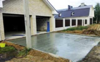 Чем обработать бетонную дорожку от разрушения