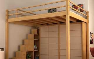 Лестница для кровати чердака своими руками