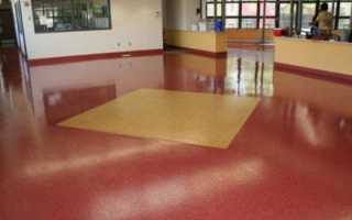 Эпоксидное покрытие для бетонного пола