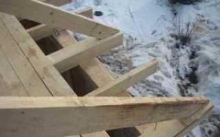 Крепление деревянных балок перекрытия к стене
