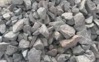 Фундамент под забор из бутового камня