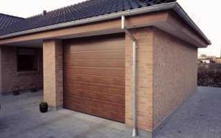 Раскладные ворота для гаража