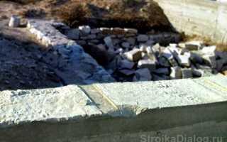 Как выровнять столбчатый фундамент по высоте