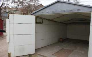Отделка металлического гаража внутри