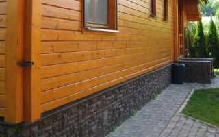 Как украсить фундамент дома своими руками