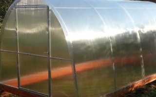 Какой брус использовать для теплицы из поликарбоната