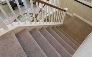 Отделка лестницы ковролином своими руками