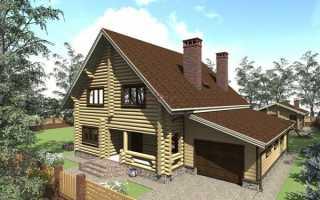 Пристройка гаража к деревянному дому своими руками