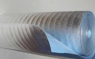 Утеплитель фольгированный рулонный какой стороной класть