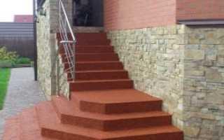 Плитка для лестницы на улице противоскольжения