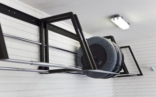Хранение автошин в гараже