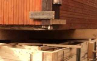 Реконструкция фундамента деревянного дома своими руками
