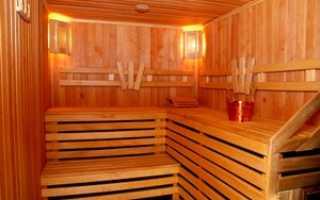 Как обшить баню из бруса изнутри