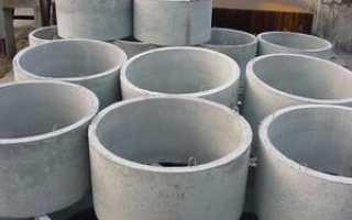 Бетонный стакан для канализации