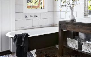 Как облагородить ванную комнату без ремонта