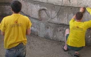 Ремонт бетонного бассейна своими руками